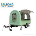 Hot sale rmost popular small food trailer for design