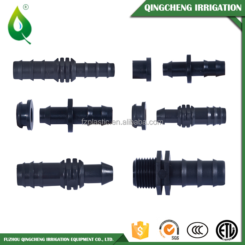 Plastic Drip Irrigation Fitting Offtake For PVC Pipe And Dripline 20mm