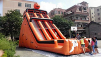 China custom festival inflatable slide,inflatable Hallowmas slide for sale