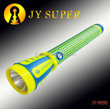Plastic JYSUPER rechargeable led police torch light JY9595