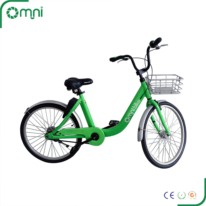 Most reasonable aluminum alloy material solid tires price share bike with gps tracking locker