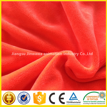 Low Price two tone screw flower warp knitting velboa/pv rose fabric for baby cloth Manufacturer Supplier