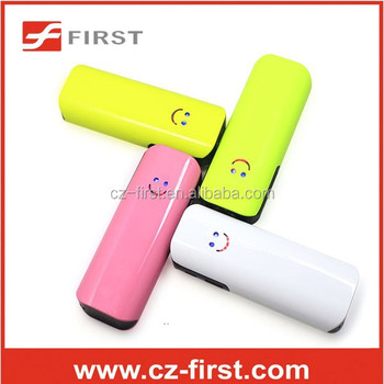 Portable power bank 4000mah piece per price with smile face