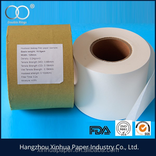 tea bag filter paper from China hangzhou filter paper factory