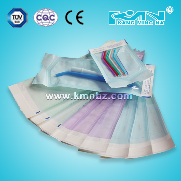 Dental Seal Pouches for Steam and ETO Sterilization bag