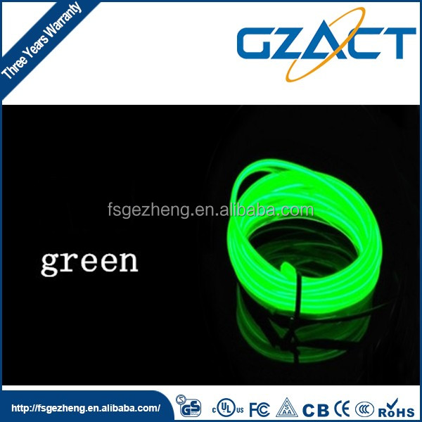 lights and lightings outdoor decoration bright el luminescent wire