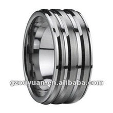2012 amazing design high polished high quality mens western wedding bands