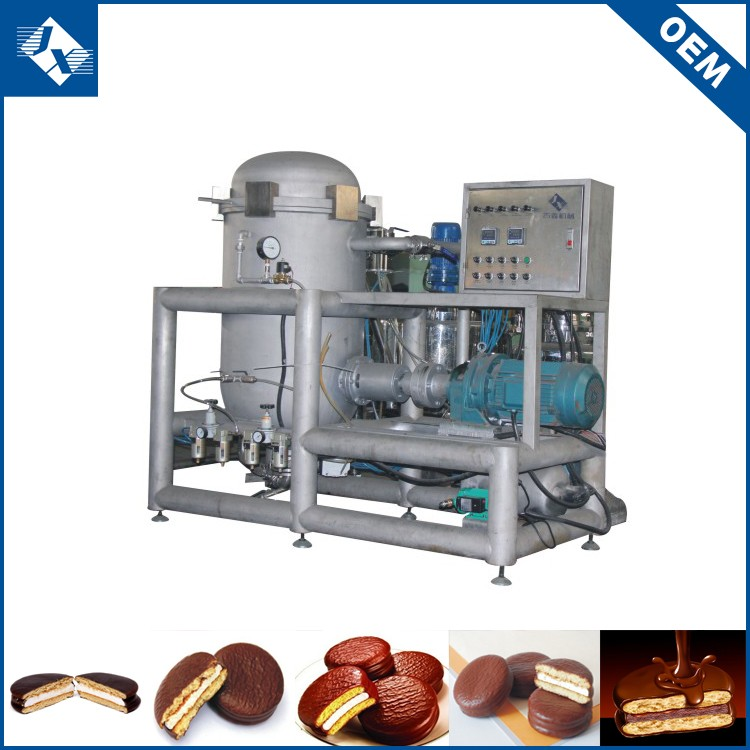 Professional OEM chocolate filling pie food machine