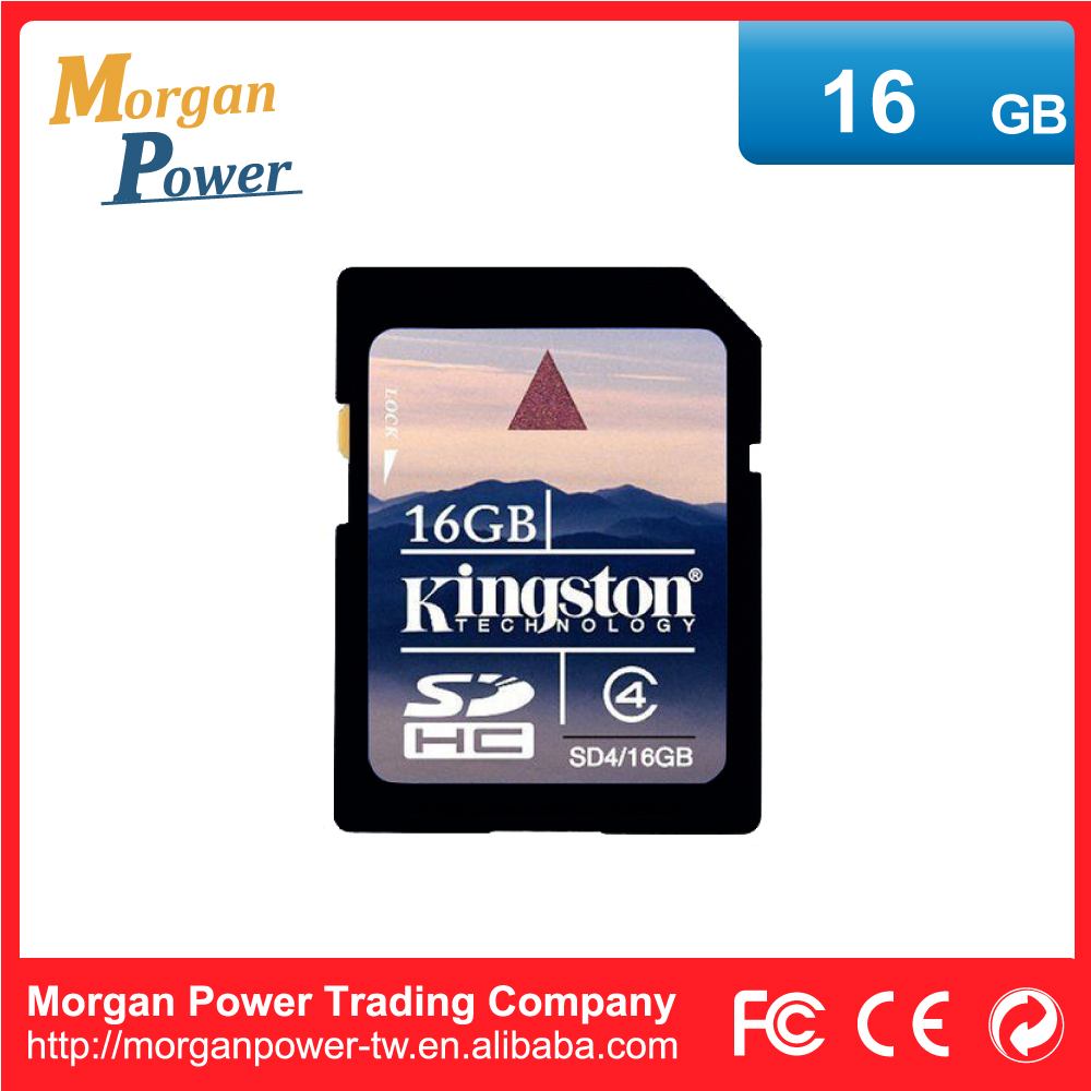 High Performance SD4/16GB Kingston SD Memory Card