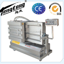 rice brick type double chamber vacuum packing machine