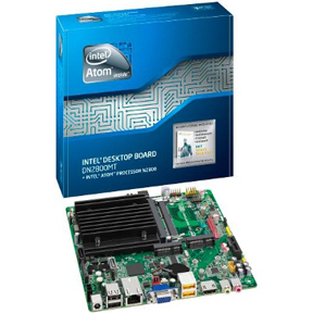 Intel Marshalltown Ultra Thin Mini-ITX Motherboard DN2800MT/DN2800MTE In Stock lvds aces 88441-40 All-in-One/HTPC/MINI PC