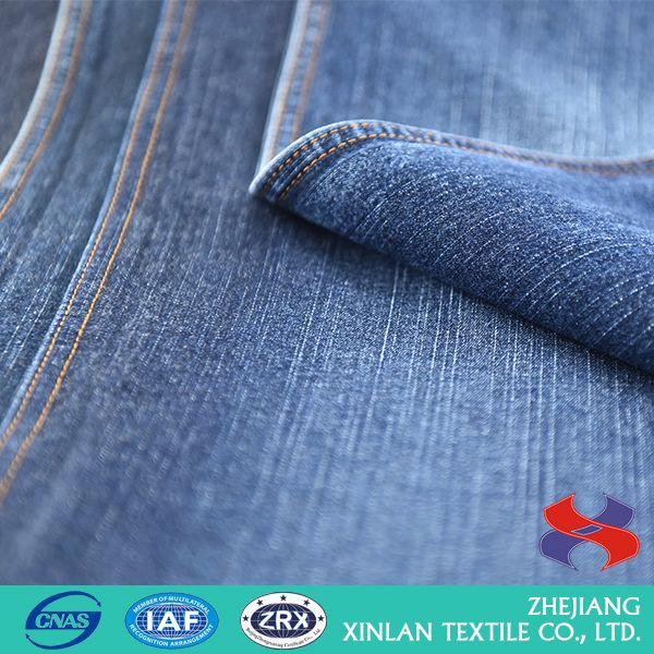 Best selling excellent quality cotton denim stretch fabric with good offer