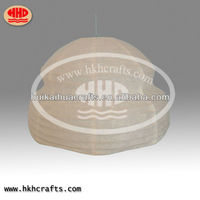 hotsale wholesale handmade paper crafts/paper pendant lantern/factory directly sale paper lantern