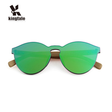 Kingtale True color luxury pc and bamboo polarized sunglasses custom for fishing