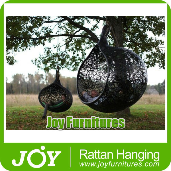 Outdoor Leisure Wicker Cane Swing Hanging