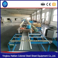 Auto China Cable tray plank roll forming machine/ Cable Tray Making Machine