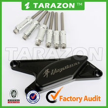 CNC aluminum engine guards for motorcycle Hayabusa 1300