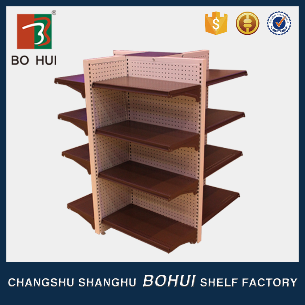 Asia chain store/ double-sided rack/ with factory price