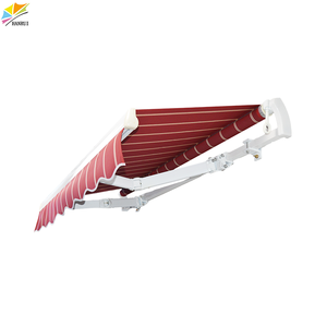 10ft,12ft, 16ft, 18ft Anti-Wind Aluminium Sun Shade/ Retractable Electric Outdoor Awning for Window