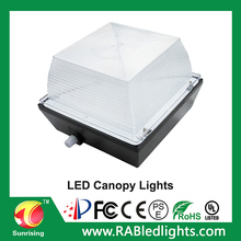 Hot sale warehouse LED Low bay Light form factory Precision die cast aluminum housing led canopy light