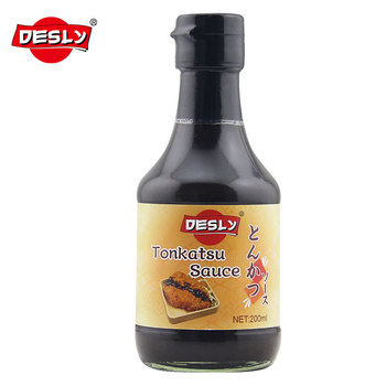 200ml glass bottle Tonkatsu Sauce thick soy sauce for Japanese products