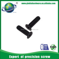 Black countersunk screw, screw triangle head