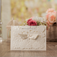 White wedding supplies/ Wedding Invitation card /greeting card cw5133