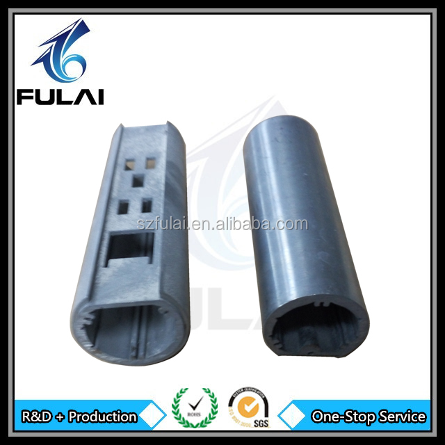 High pressure die casting customized metal zinc allloy tube parts