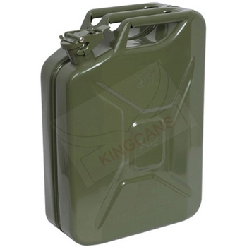 20LITRE STANDARD NATO LID JERRY CAN-GREEN