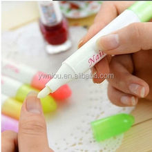 Nail Art Polish Remover Corrector Pen With 3 Replacement Changeable Tips