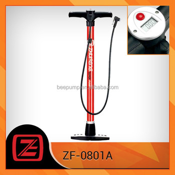 Portable road bike pump