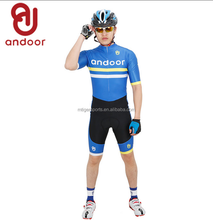 2017 andoor OEM sublimation print pro-team one piece cycling clothes bicycle suit cycling jersey