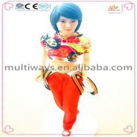 "12"" Adult beautiful female Japanese figurine for high quality market"