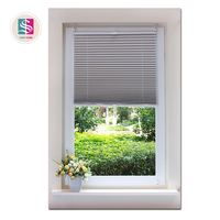 horizontal pattern cord pulley pleated blind window shade