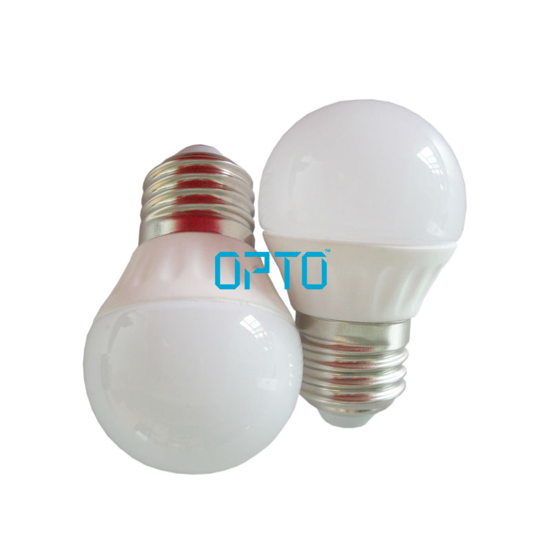 3W Ceramic E27 E14 LED Light Bulb