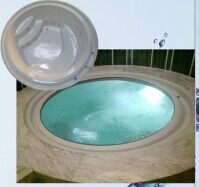 Factory 2014 New 1 to 2 person indoor round spa / whirlpool spa / hydro spa hot tub