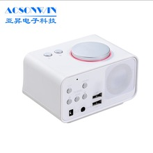 Promotion factory hotel fm radio smart alarm clock
