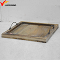 small wooden vintage serving tray decorations