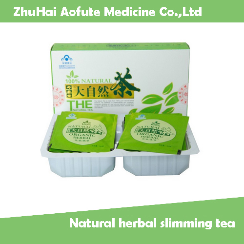 Natural herbal slimming tea