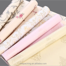 Beautiful self-adhesive pvc wallpaper designs,PVC decorative film,ideal material for indoor decoration
