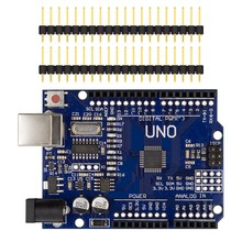 Hot Selling Arduino Uno R3 Module Board Mega328P CH340G Chip with Free USB Cable For Arduino Starter Kit