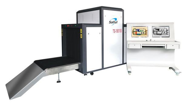 1000*1000mm big Tunnel Size X-Ray Baggage Scanner Inspection System Machine TS-100100