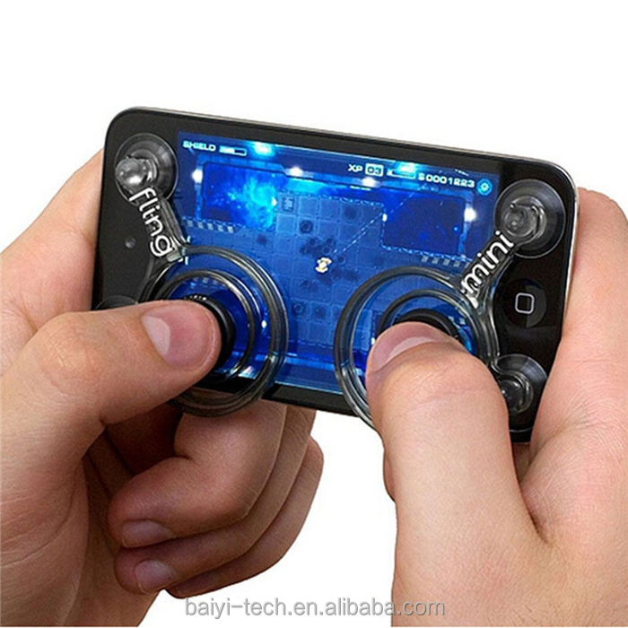 2017 Mini fighting game joystick For iphone mobile phone joystick physical King glory handles