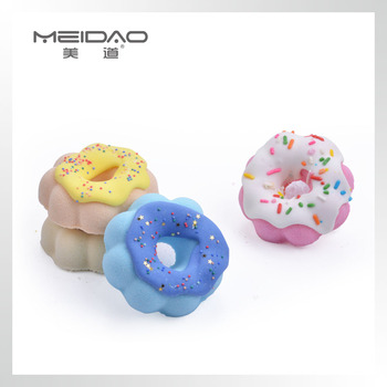 Meidao Popular Colorful Different Cupcake Bath Salt Fizzer Bubble Bath Bomb Gift Set