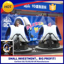 2015 New Products VR Cinema Simulator With Low Investment High Profit Business In Aqua Park
