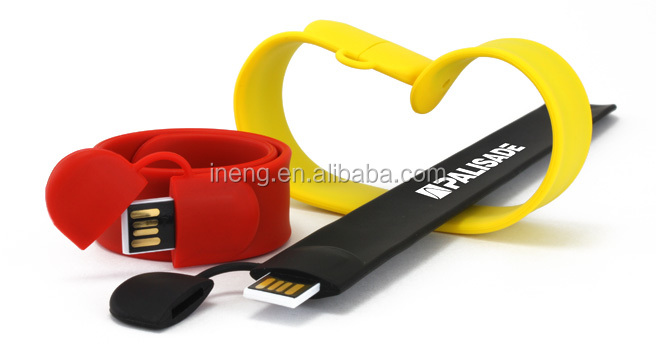 Colorful magic bracelet USB Flash Drive USB Memory 8GB 16GB 32GB Promotional gift