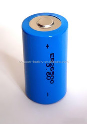 8500mAh Dry Cell Battery ER26500 Lithium Primary Battery