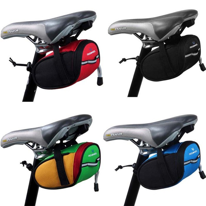 Outdoor Cycling Bicycle Bike Frame Saddle Bag Portable Back Seat Pouch Package EN3590 bicycle accessories bike bag