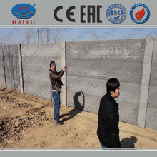 concrete molds fence/retaining wall concrete mold