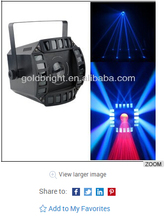 new multi effects in one fixture led beam derby moon flower light
